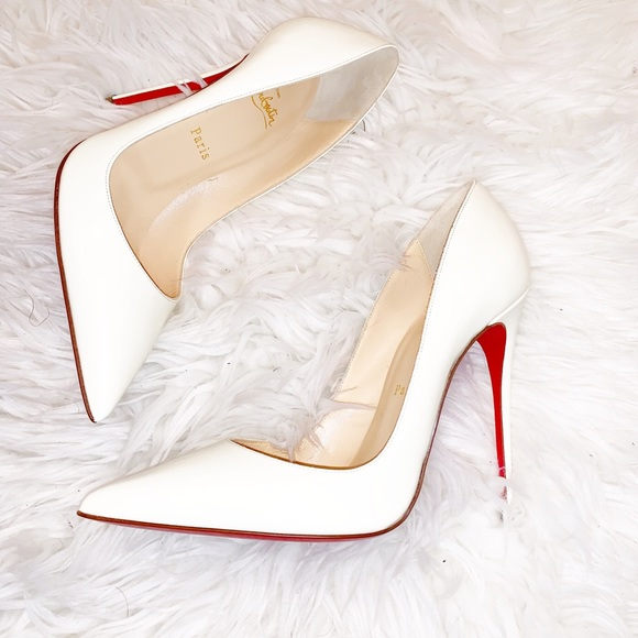 2be921bed9c Never been worn white patent So Kate Louboutin NWT